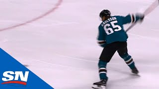 Erik Karlsson Scores First Goal As A San Jose Shark