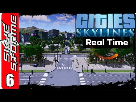 Cities: Skylines Real Time - Building Wonderland Part 6 ►SMALL CITY 8000 POPULATION!◀ Gameplay/Tips