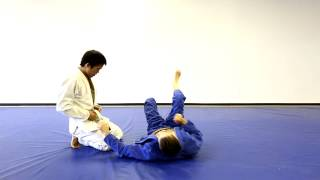 Double Sleeve DLR Guard To Tomoe Nage Closed Guard Drop