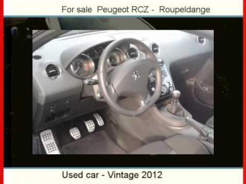 Sale One Peugeot RCZ  Roupeldange  Moselle