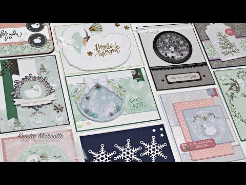 Love From Lizi - November 2019 Card Kit - 10 Cards 1 Kit