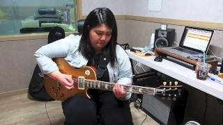 Hold The Line - Toto (guitar Covered By Jinny Kim)