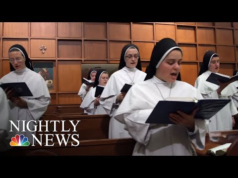 These Singing Nuns Have Become A Hit Music Sensation | NBC Nightly News