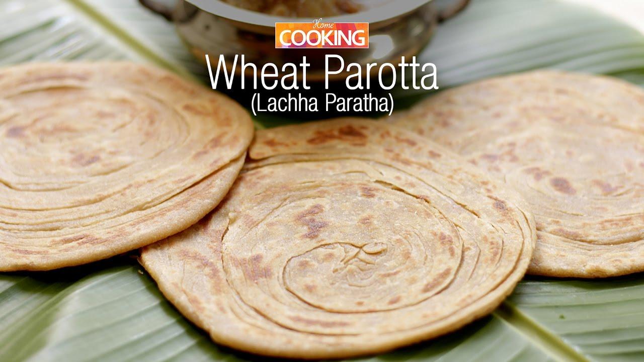 Download Wheat Parotta | Lachha Paratha | Paratha Recipes