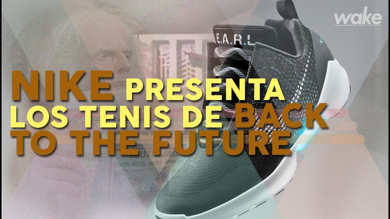 Nike presenta los tenis de to Back to de the Future YouTube c4d352