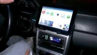 видео Установка планшета в автомобиль своими руками