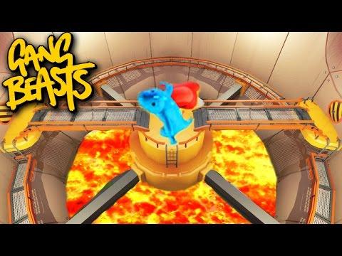 Gang Beasts Online - MAPA NOVO com MUITA ZUEIRA!!!!