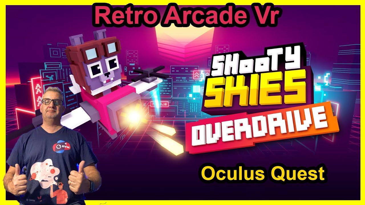 Shooty Skies Overdrive Buen Juego Arcade Para Oculus Quest , Precio justo 10 Euros - Español