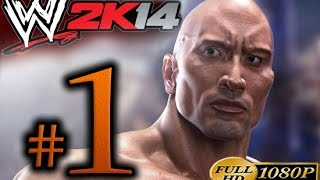 WWE 2K14 Walkthrough Part 1 [1080p HD] 30 Years Of Wrestlemania Mode - No Commentary