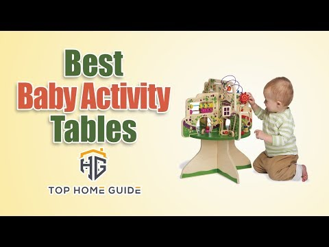 ▶️Activity Tables: Top 5 Best Baby Activity Tables in 2020 [ Buying Guide ]