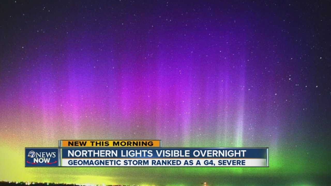 Breathtaking Northern Lights May Be Visible From Washington to New York This Weekend