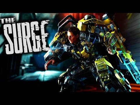 The Surge Gameplay - Sci-Fi Darksouls in a Scrapyard! Target, Loot and Equip! (Let's Play The Surge)