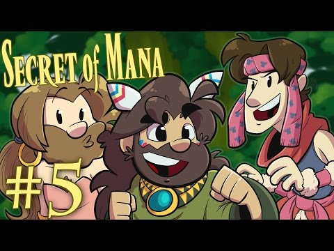 Secret of Mana | Let's Play Ep. 5: Every Mana Has a Price | Super Beard Bros.