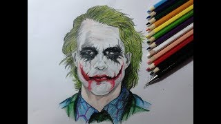 Desenhando o Coringa - Drawing the Joker