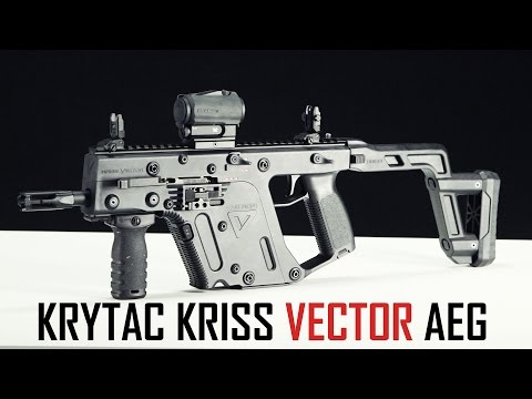 KRYTAC Kriss Vector AEG Overview! - Airsoft GI