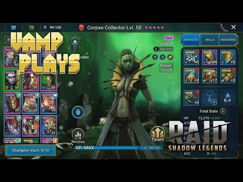 RAID: Shadow Legends | Corpse Collector Guide | Vamp Plays