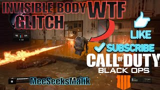 COD BLACK OPS 4 Invisible Body Glitch Huge Issue In Bo4
