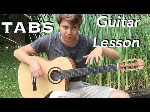 Pirates of the Caribbean - Guitar Lesson & TABS - Fingerstyle Guitar