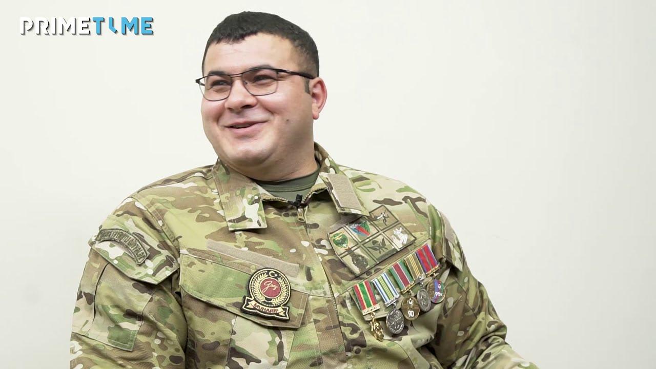 Mina əlində partladı, qolu yoxdu, gözləri çıxdı - Bədənində 300 qəlpə olan hərbçimiz Natiq Mehdiyev