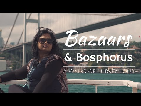 Bazaars and Bosphorus Tour with Grand Bazaar, Spice Bazaar & Bosphorus Cruise