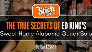 Sweet Home Alabama Guitar Solo Improvisation: It's Not About G Major or Minor... It's About When.