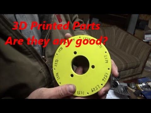Accuracy of a 3d printed plate