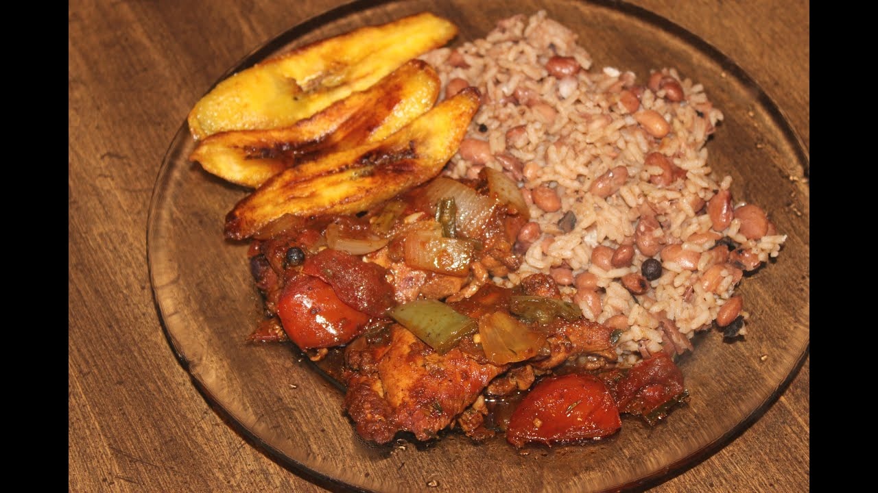 HOW - TO MAKE REAL JAMAICAN STEW CHICKEN , JAMAICAN RICE ...