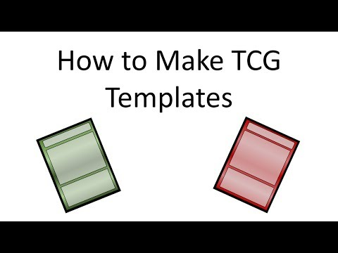 How to make a Trading Card Template