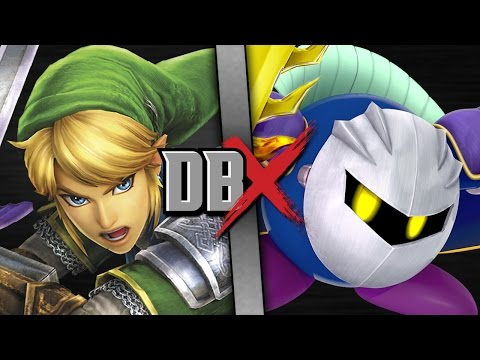 Link VS Meta Knight (Legend of Zelda VS Kirby) - DBX