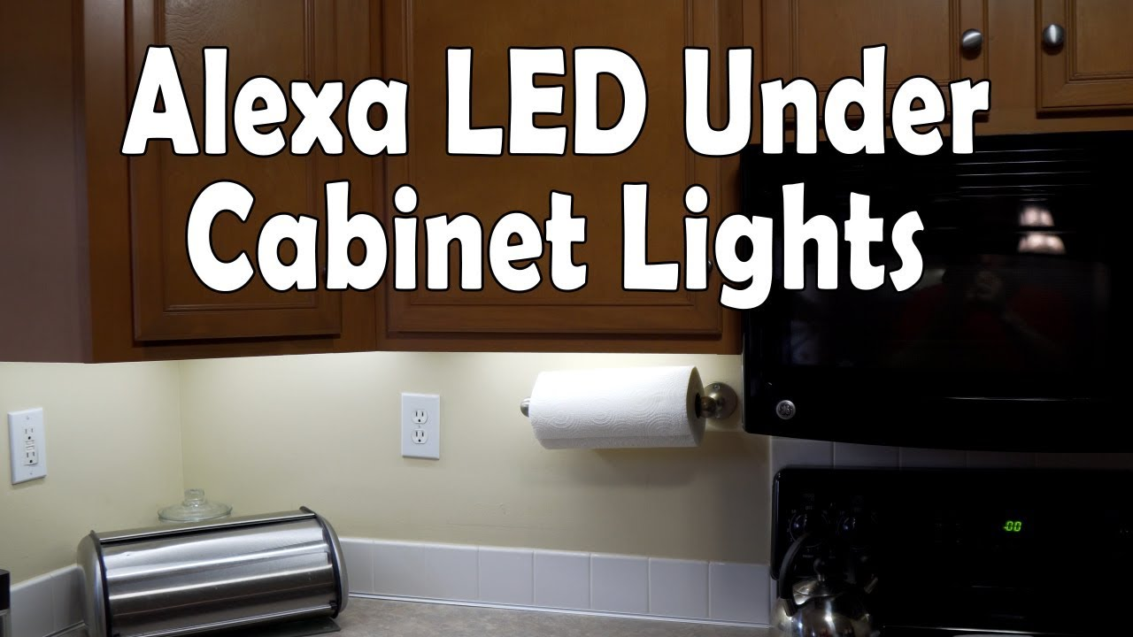 Alexa Controlled Under Cabinet Led Strip Lights