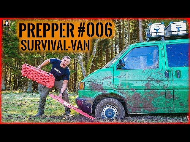 Survival Mattin Flucht mit PREPPER NOTFALL VAN #006   ÜBERLEBEN im ERNSTFALL