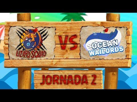 LCE Pokémon SL [Liga Luna] - ¡Lizard Squad VS Ocean Wailords! - Jorn 2 Temp 3