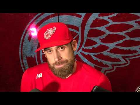 Red Wings' Henrik Zetterberg: Too much poke and hope hockey