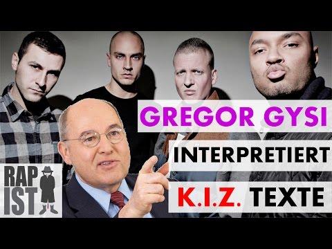 Gregor Gysi interpretiert K.I.Z. Texte - Flüchtlinge, Marihuana, Wohlstand
