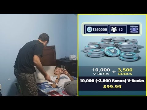 Kid Spends $10,000 On Fortnite VBucks With Brother's Credit Card