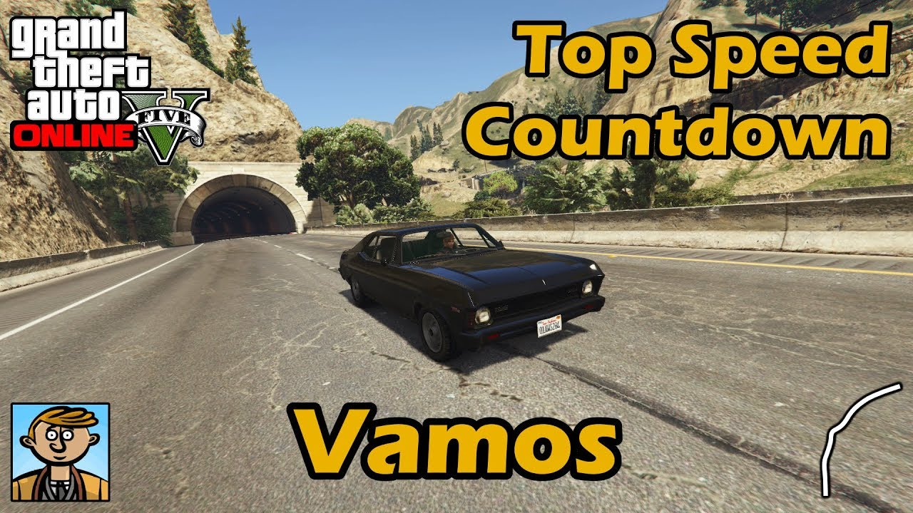 fastest muscle cars (vamos) - gta 5 best fully upgraded cars top