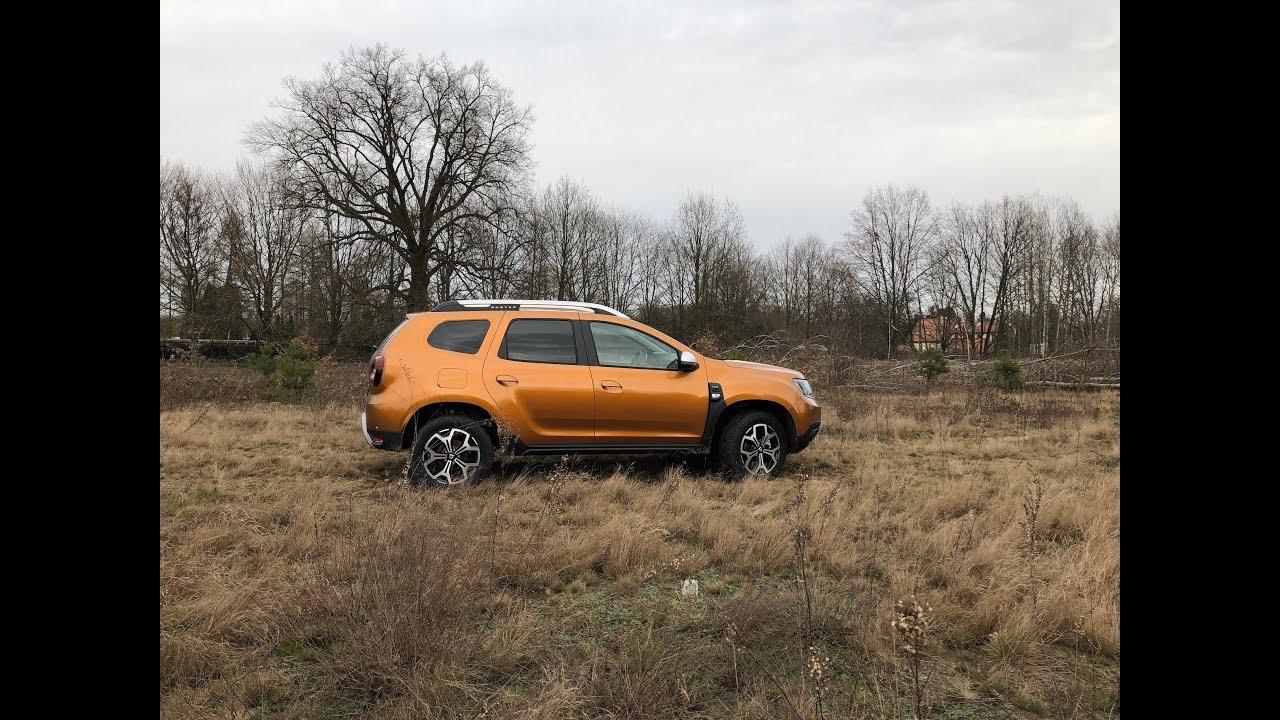 Dacia Duster 2018 TCe i dCi test PL Pertyn ględzi