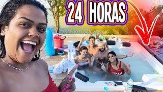 24 HORAS NA BANHEIRA SPA !!!