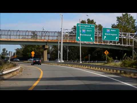 Drive Interstate 395 North to The Village at Shirlington 22206