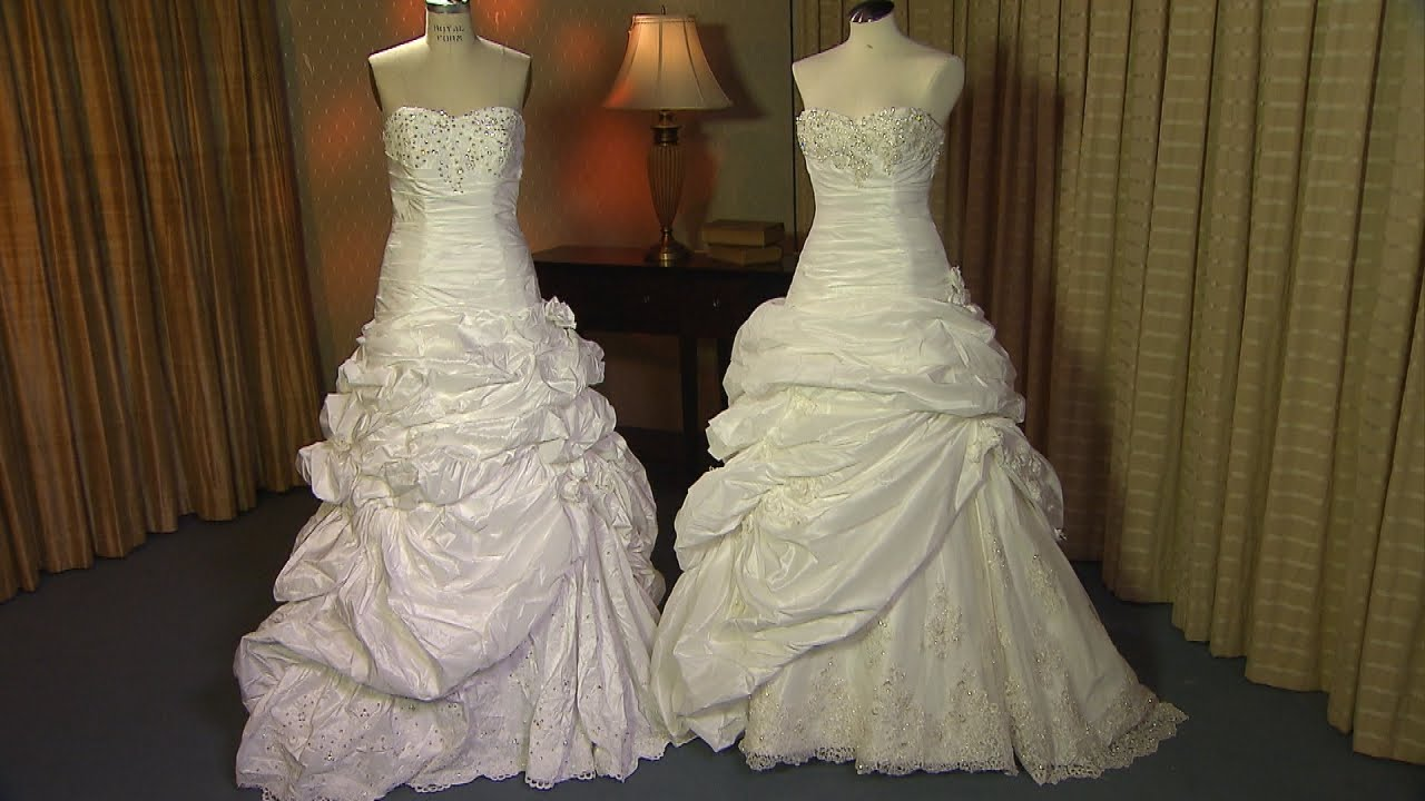 Bride Mortified When Online Bargain Wedding Gown Was Knock-Off ...