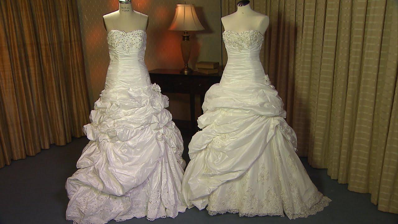 Bride Mortified When Online Bargain Wedding Gown Was Knock