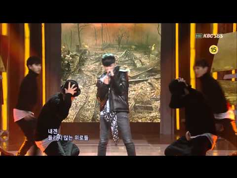 [SBS] Tablo - Tomorrow(feat. 태양) & 나쁘다(feat. 진실) 인기가요 20111030