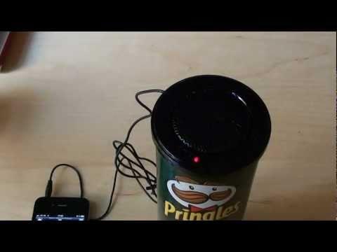 Der Pringles Speaker (2011) im Kurztest