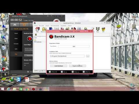 Bandicam Programını Crack Yapma bandicam.com yazısını kaldırma