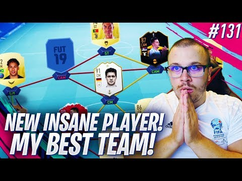 FIFA 19 I GOT A NEW INSANE PLAYER & BUILT MY BEST TEAM FOR FUT CHAMPIONS