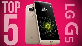 LG G5: Top 5 New Features