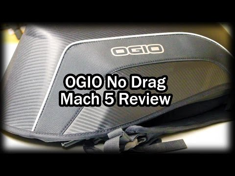 OGIO No Drag Mach 5 Stealth Motorcycle Backpack Review