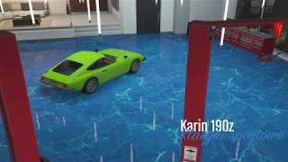 [GTA Online] New Car (Karin 190z) all tuning settings