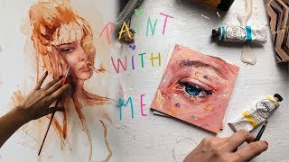 ✨Paint With Me ✍🏽|| Jim Ren