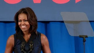Repeat youtube video First Lady Michelle Obama Speaks at a Lets Move! Active Schools Event